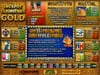 Diamond Reels featuring the Video Slots Jackpot Cleopatra's Gold with a maximum payout of $12,500