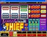 Win Paradise featuring the Video Slots Jewel Thief with a maximum payout of $30,000