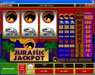 Players Palace featuring the Video Slots Jurassic Jackpot with a maximum payout of $160,000