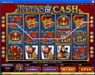 Casino Share featuring the video-Slots Kings of Cash with a maximum payout of 25,000x