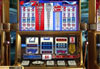 Liberty Slots featuring the Video Slots Liberty 7s with a maximum payout of 100,000x