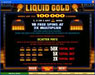 Casino Share featuring the Video Slots Liquid Gold with a maximum payout of 25,000x