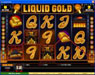 Jackpot City featuring the Video Slots Liquid Gold with a maximum payout of 25,000x