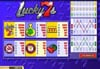 Liberty Slots featuring the Video Slots Lucky 7s with a maximum payout of $25,000