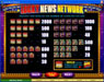 Casino Action featuring the Video Slots Lucky News Network with a maximum payout of $10,000
