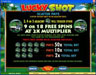 Play Hippo featuring the Video Slots Lucky Shot with a maximum payout of $75,000