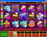 Vegas Joker featuring the Video Slots Mad Hatters with a maximum payout of $50,000