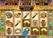 Slotnuts featuring the video-Slots Mayan Queen with a maximum payout of 50,000