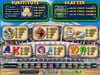 Planet 7 featuring the video-Slots Medal talley with a maximum payout of Jackpot