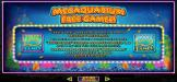 Palace of Chance featuring the Video Slots Megaquarium with a maximum payout of $12,500