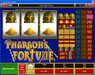 Villento featuring the Video Slots Pharaoh's Fortune with a maximum payout of $37,500