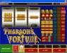 Wild Jackpots featuring the Video Slots Pharaoh's Fortune with a maximum payout of $37,500