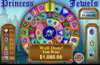 Liberty Slots featuring the Video Slots Princess Jewels with a maximum payout of 100,000x