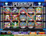 Jackpot City featuring the Video Slots Pure Platinum with a maximum payout of 500x