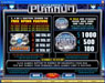 Vegas Joker featuring the Video Slots Pure Platinum with a maximum payout of $50,000