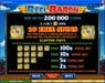 Vegas Paradice featuring the Video Slots Reel Baron with a maximum payout of $10,000