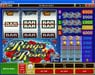 Music Hall featuring the video-Slots Rings & Roses with a maximum payout of $150,000