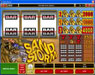 Go Wild featuring the Video Slots Sand Storm with a maximum payout of $60,000