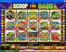 Casino Action featuring the Video Slots Scoop the Cash with a maximum payout of $10,000