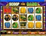 Casino Share featuring the Video Slots Scoop the Cash with a maximum payout of 10,000x
