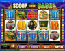 Mega Casino featuring the Video Slots Scoop the Cash with a maximum payout of $10,000