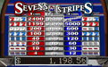 La Riviera featuring the Video Slots Sevens and Stripes with a maximum payout of $75,000