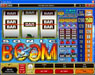 Slots Cafe featuring the Video Slots Sonic Boom with a maximum payout of $25,000