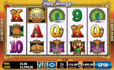 Play slots at Norske Casino: Norske Casino featuring the Video Slots Tiger Treasures with a maximum payout of $20,000