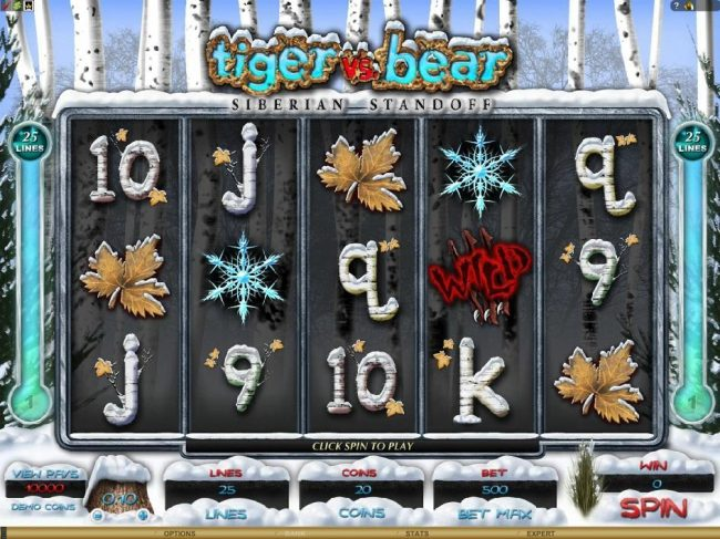 Grand Hotel featuring the Video Slots Tiger vs. Bear with a maximum payout of $6,000