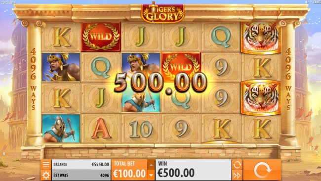 Play slots at Slotman: Slotman featuring the Video Slots Tiger's Glory with a maximum payout of $120,000