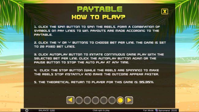 Tiki Rainbow :: General Game Rules