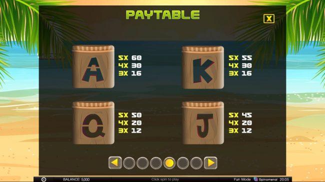 Tiki Rainbow :: Low Value Symbols