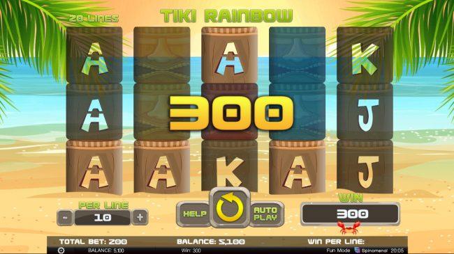 Tiki Rainbow :: Four of a kind