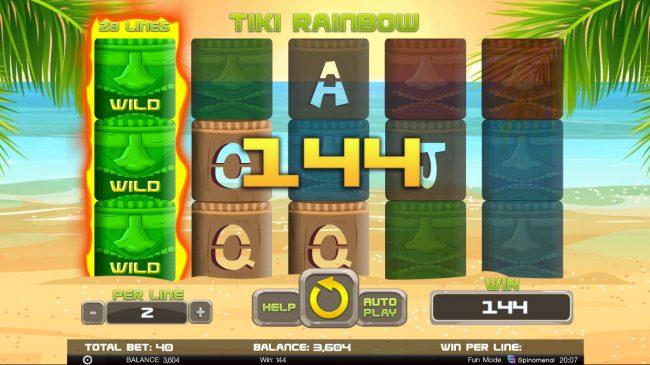 Tiki Rainbow :: Three of a Kind