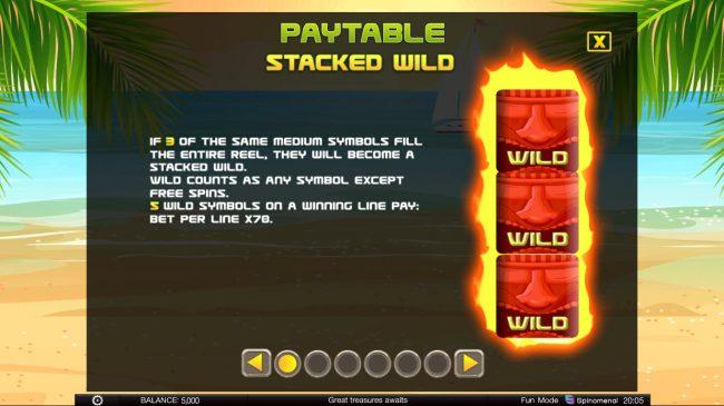 Tiki Rainbow :: Stacked Wilds