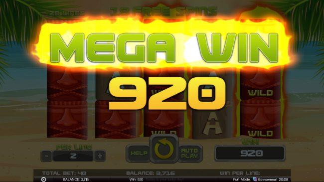 Tiki Rainbow :: Mega Win