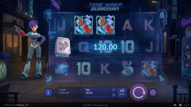 Play slots at Unique Casino: Unique Casino featuring the Video Slots Time Warp Guardian with a maximum payout of $900.00