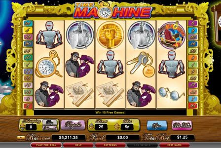 Play slots at Vera&John: Vera&John featuring the video-Slots Time Machine with a maximum payout of 10,000x