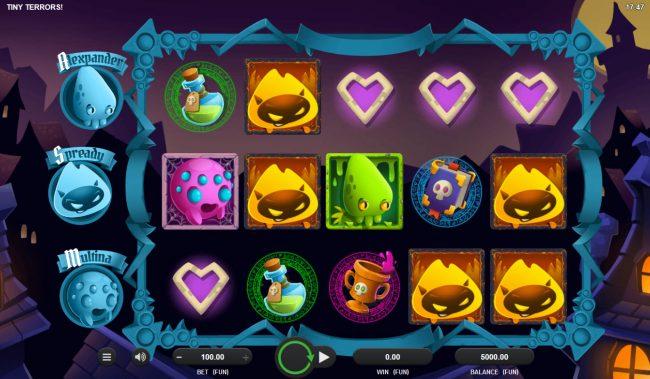 Tiny Terrors :: Main Game Board