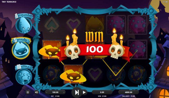 Play slots at Viggoslots: Viggoslots featuring the Video Slots Tiny Terrors with a maximum payout of $20,000