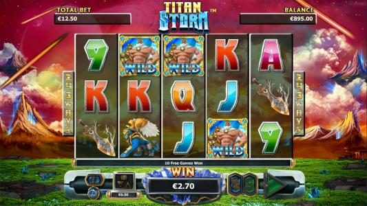 Diamond Club VIP featuring the Video Slots Titan Storm with a maximum payout of $4,000