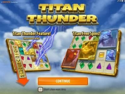Play slots at Rizk: Rizk featuring the Video Slots Titan Thunder with a maximum payout of $200,000