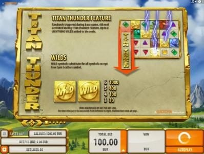 Play slots at 888 Casino: 888 Casino featuring the Video Slots Titan Thunder with a maximum payout of $200,000