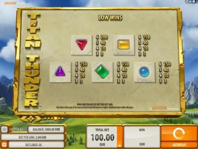 Play slots at Conquer: Conquer featuring the Video Slots Titan Thunder with a maximum payout of $200,000