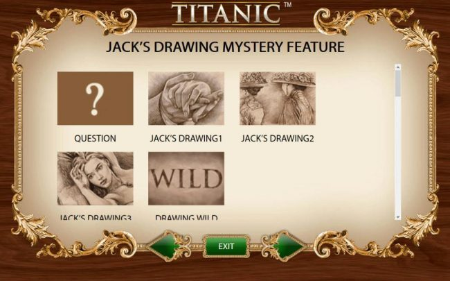 Kacks Drawing Mystery Feature