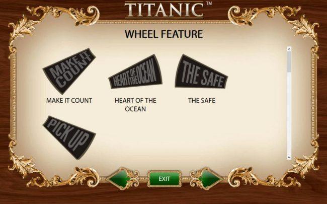 Wheel Feature