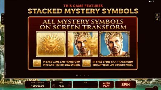 Lucky247 featuring the Video Slots Titans of the Sun - Hyperion with a maximum payout of $375,000