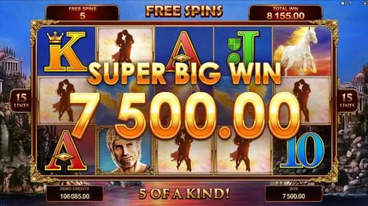 Play slots at Yukon Gold: Yukon Gold featuring the Video Slots Titans of the Sun - Hyperion with a maximum payout of $375,000