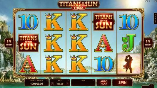 Play slots at Argo: Argo featuring the Video Slots Titans of the Sun - Theia with a maximum payout of $400,000