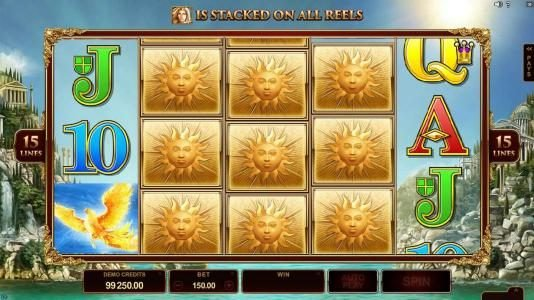 Music Hall featuring the Video Slots Titans of the Sun - Theia with a maximum payout of $400,000